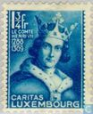 Postage Stamps - Luxembourg - Emperor Henry VII