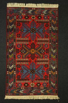 Gorgeous DERBENT (RUSSIA) rug in perfect condition, 1960s, 234 x 137 cm