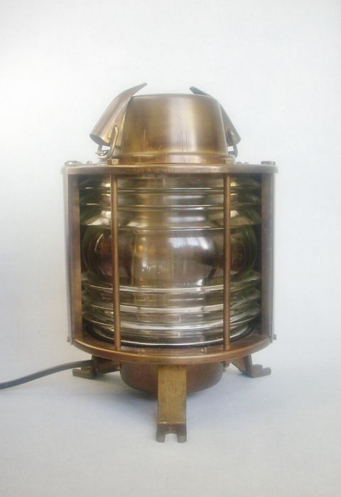 Brass Maritime Industria Rotterdam Stern Light - ca. 1975