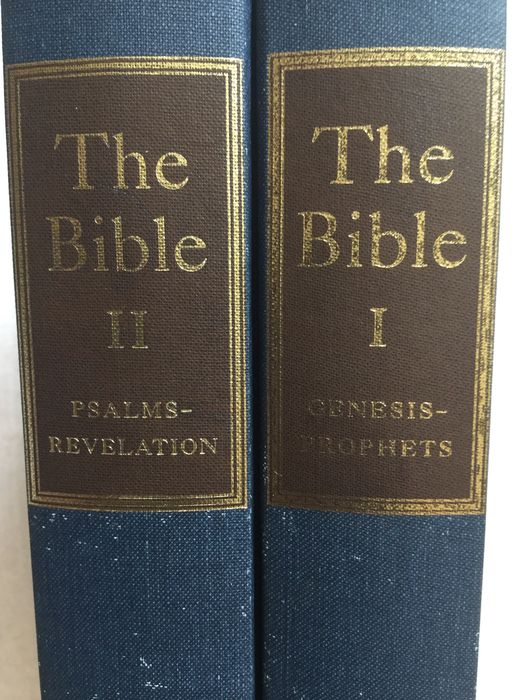 Bijbels; Ernst Sutherland Bates (ed.) - The Bible. Designed to be read as Literature - 1957