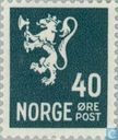 Postage Stamps - Norway -  Leeuwtype II