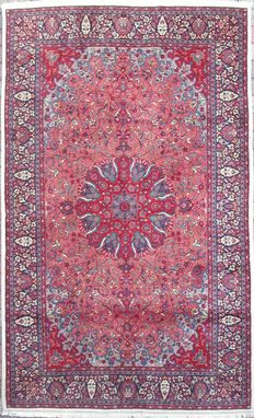 Antique PERSIAN TABRIZ - 60 years old