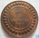 Tunisia 5 centimes 1917 (year 1336)