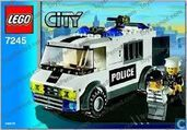 Lego 7245-1 Prisoner Transport Black Green Sticker