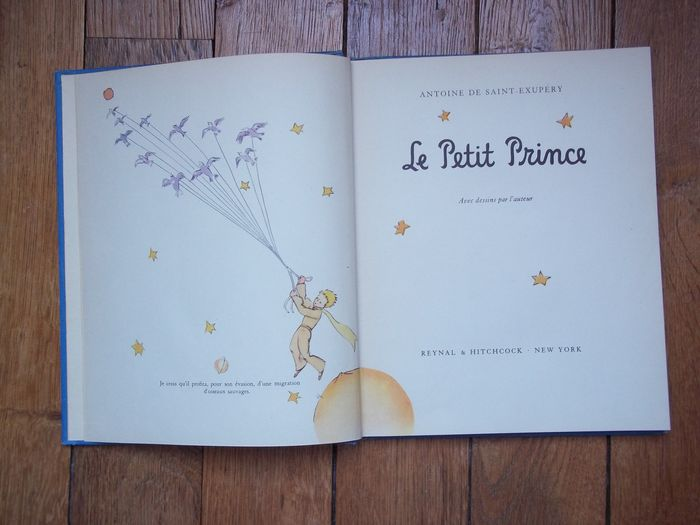 Illustrated Saint Exupery Le Petit Prince Us Edition In