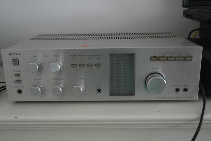 Sony TA 535 Integrated Stereo Amplifier (1980)