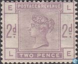 Postage Stamps - Great Britain [GBR] - Queen Victoria