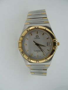 OMEGA Constellation, gold and steel