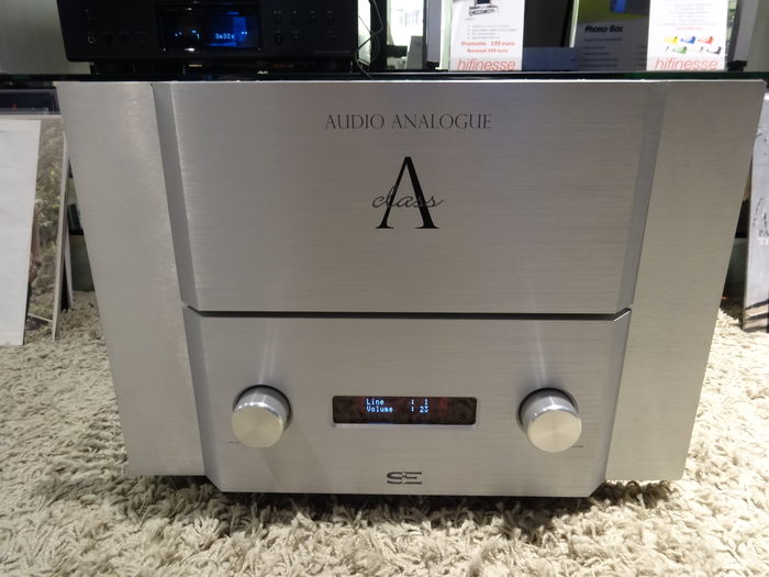 Audio analogue maestro anniversary by airtech integrated amplifier.