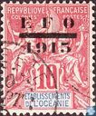 Shipping and trade, with overprint