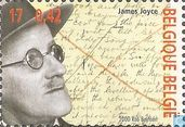 Postage Stamps - Belgium [BEL] - James Joyce