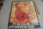 Rolling Stones 1973 Tour Poster