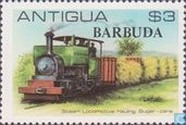 locomotives de la plantation de sucre