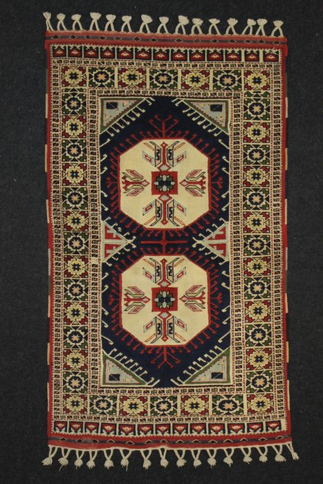 KONYA carpet, geometric design, 20th century