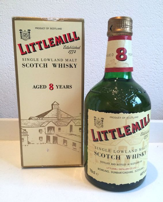 Littlemill 8 years old - Closed distillery
