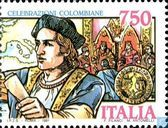 Postage Stamps - Italy [ITA] - Discovery America 1492