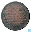 USA  (Attleboro, MA) Hard Times Token  Robinson's Jones & Co  1833
