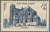 Postage Stamps - France [FRA] - St-Julien in Le Mans