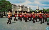 Guards Band near Buckingham Palace
