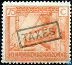 """STEUERN"" Tax Briefmarken 1923 - Type ""Vloors"""