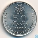 "Comoros 50 francs 1975 ""Republic Independence"""