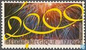 Postage Stamps - Belgium [BEL] - Welcome 2000