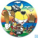 Caps and pogs - 07) 24 Game Flippo (Ned.) - Viking Chester