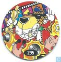 Caps and pogs - 07) 24 Game Flippo (Ned.) - Movie Chester