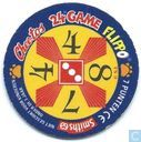 Caps and pogs - 07) 24 Game Flippo (Ned.) - Frankie Chester