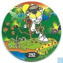 Caps and pogs - 07) 24 Game Flippo (Ned.) - Crocodile Chester