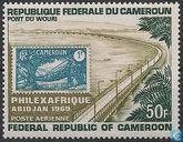 Philexafrique Stamp Exhibition Abidjan