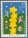 Postage Stamps - Belgium [BEL] - Europe – Tower of stars