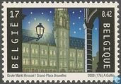 Postage Stamps - Belgium [BEL] - Grand Place