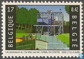 Postage Stamps - Belgium [BEL] - Canal du Centre Lifts