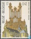 Postage Stamps - Belgium [BEL] - Forceville Organ and the Abbey Church in Ninove