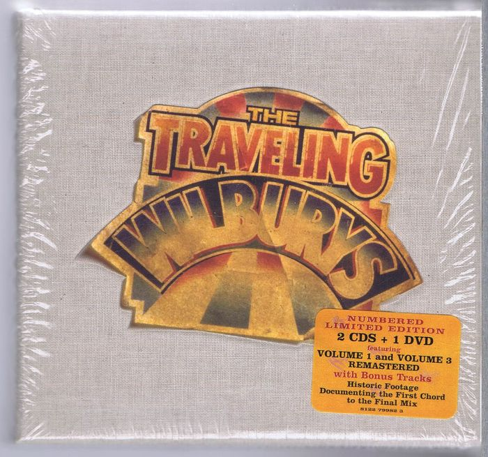 Traveling Wilburys 2cds 1dvd Box Set Rhino R2 167868
