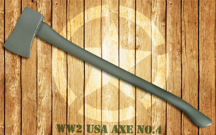 "Voertuigbijl (Jeep Willy's/Ford GPW) ""USA Axe No. 4"" - WO2"