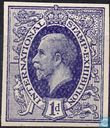 GB 1912 London International Stamp Exhibition Imperf essay (Without Gum)