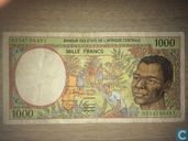 Central African States 1000 Francs