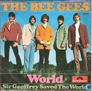 Disques vinyl et CD - Bee Gees, The - World