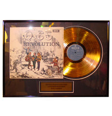Q65 - Revolution Gold plated Record 24k Gold Plated