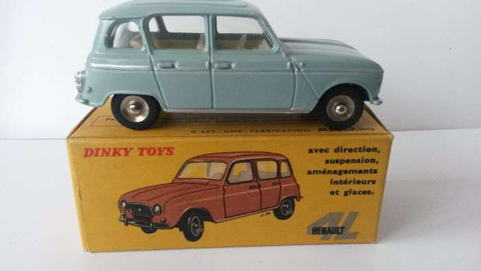 dinky toys france renault 4l 1961 catawiki. Black Bedroom Furniture Sets. Home Design Ideas