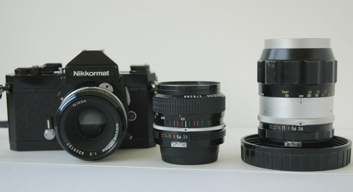 Nikkormat FT2 set