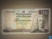 Scotland 10 Pounds in 2006