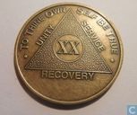 USA  AA Recovery  20 Years of Sobriety  (Serenity, Courage, & Wisdom)