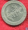 USA North Shore Club Hotel  gaming token  (Lake Tahoe - Crytal Bay, NV)  1984