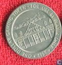 USA  1 dollar Bonanza Hotel gaming token (Las Vegas, NV)  1967