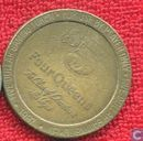 USA  5 dollar  Four Queens Hotel gaming token (Las Vegas, NV)  1987
