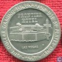 USA  1 dollar Frontier Hotel gaming token (Las Vegas, NV)  1967