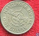 USA  1 dollar Hard Rock Hotel gaming token (Las Vegas, NV)
